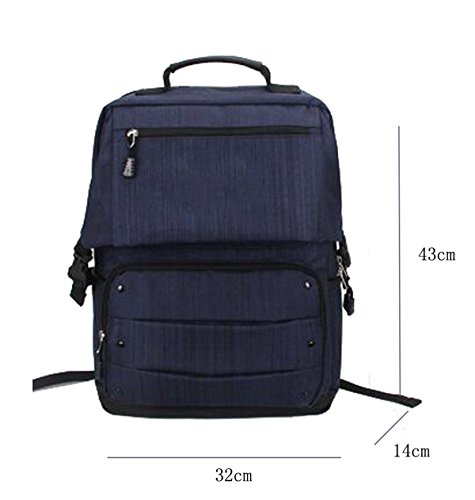 TUOZA Outdoor-Reisen Computer Rucksack Geschäft Berg Tasche Beige