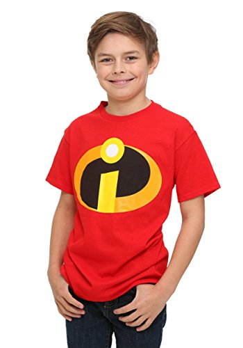Incredibles Kostüm Dash (Boys Incredibles Fancy dress costume TShirt Large - Youth)
