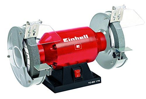 elektrischer schleifstein Einhell Doppelschleifer TC-BG 175 (400 W, Drehzahl 2950 min-1, 230 V/50 Hz, inkl. Grob- und Feinschleifscheibe mit 175mm Durchmesser)