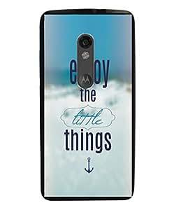 Techno Gadgets Back Cover for motorola Xplay