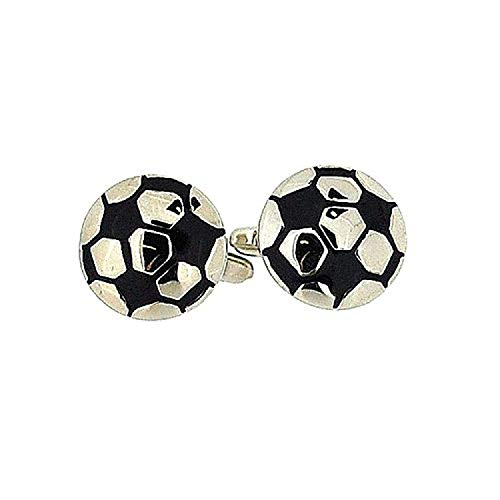 """Boutons de Manchette Artamis """"Football"""" dans une Boîte de présentation"""
