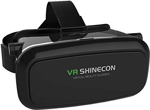 Madhur Vr Shinecon 3d box Vr Glasses for mobile (Play 3d Games) Watch 3d Movies Real