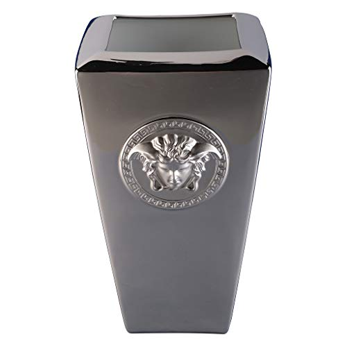 Versace Medusa platin Vase 24 cm Platin Vase