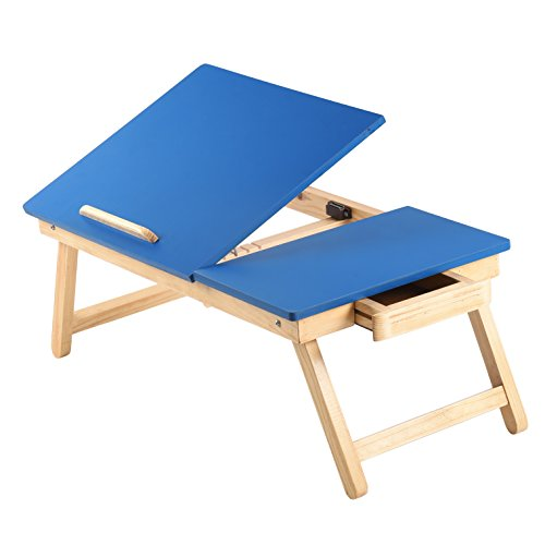 Maverick Multipurpose Portable Foldable Laptop Table with Tiltable Top and...