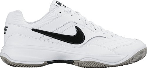 Nike Court Lite Cly, Zapatillas de Tenis para Hombre, (White/Black-Medium Grey), 41 EU