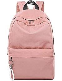 290973618845f BORKE Mode Lässig Groß Rucksack Damen Schule Literarische Einfachheit  Schultasche Backpack Teenager Wasserdicht Mode…