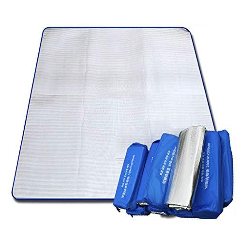 HuangHeLvYe Picknickdecke für den Außenbereich, Wasserdichte Rückseite, leicht, kompakt, Picknickdecke für Babys und Kinder