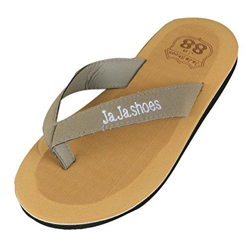 Webla Männer Sommer Flip Flops Schuhe Sandalen Herren Slipper Flip-Flops Grau