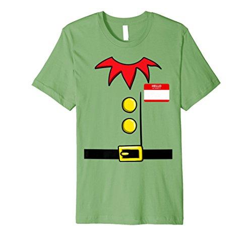 (Elf Weihnachten Gruppe Kostüm Idee T-Shirt Zwerg Name Plaque)