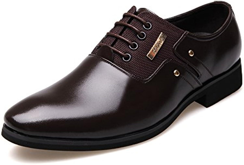YJiaJu YJiaJu YJiaJu Business scarpe Matte PU Leather & Canvas Splice Slip-on Fodera Traspirante Oxford per Gli Uomini (Lace-up... | Nuove Varietà Vengono Introdotti Uno Dopo L'altro  e24b5a