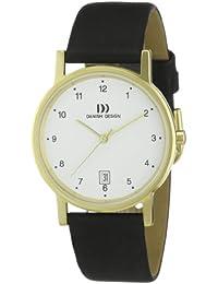 Danish Design Herren-Armbanduhr XL Analog Leder 3316234