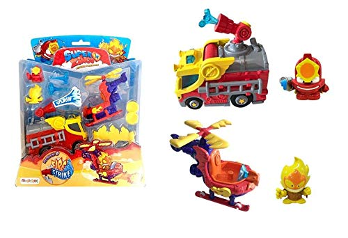 SUPERZINGS-  Blister Mission Vehículos y Figuras coleccionables,  Multicolor (Magic Box PSZSB216IN50)