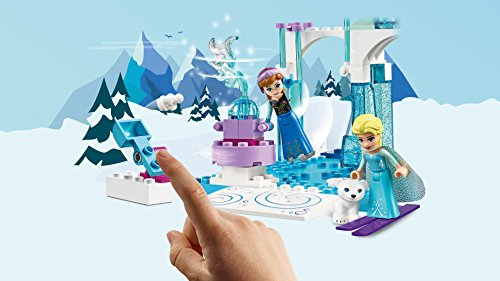 LEGO 10736 Anna and Elsa's Frozen Playground Building Set