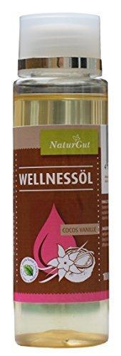 Huile Corporelle Soin De La Peau Noix De Coco Vanille, Huile De Massage, Bien-Etre, 100 ml