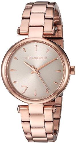 Karl Lagerfeld Reloj Analogico para Mujer de Cuarzo con Correa en Acero Inoxidable KL5005