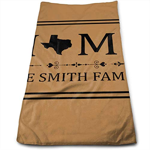 Kitchen Hand Towel Home Love Texas 2 Durable Antibacterial and Highly Absorbent Reusable Polyester Towel