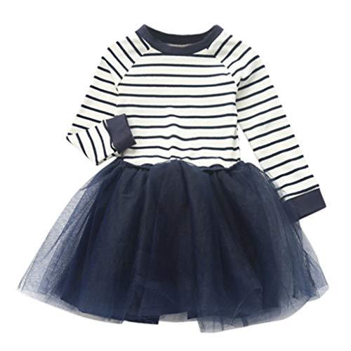 bestshope Kleinkind Kind Baby Mädchen Patchwork Punkt Pettiskirt Prinzessin Zahnspange Tüll Tutu Kleid