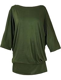 Mujer Guru Ropa Camisa Verde es Shop Amazon tzqfw11