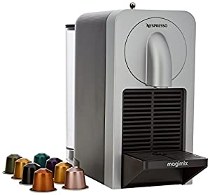 Nespresso Prodigio Coffee Maker, Silver by Magimix