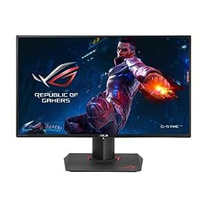 Asus ROG SWIFT PG279Q Gaming Monitor, 27'' WQHD 2560 x 1440 IPS, Fino a 165 Hz, DP, HDMI, USB 3.0, G-SYNC