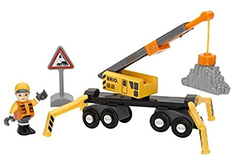 BRIO World - Mega Crane & Load