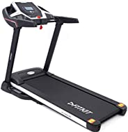 Fitkit FT100S XR Series 1.75HP (3.25HP Peak) Motorized Treadmill With Free at Home Installation Services and F