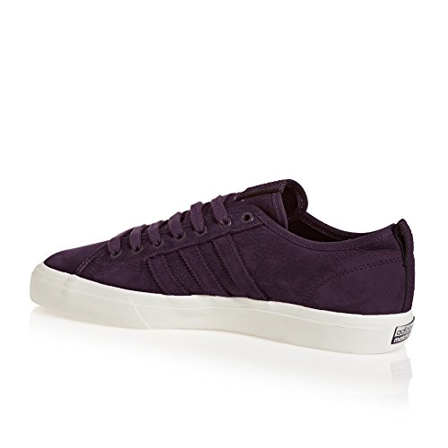 adidas Matchcourt RX, Scarpe da Skateboard Uomo Rosso (Noble Red/core Black/chalk White)