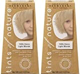 (2 Pack) - Tints of Nature - Extra Light Blonde | 120ml | 2 PACK BUNDLE