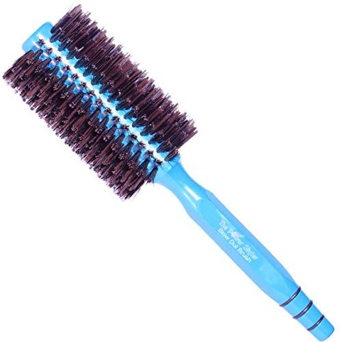 """Cepillo de pelo de cerdas de jabalí redondo, para alisar el cabello o rizar el cabello, el mejor cepillo de secador para mujeres, los mejores productos para el cabello (Mediano) de """"The Power Styler"""""""
