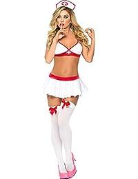 Summens Frauen Reizwäsche Sexy Reizvolle Krankenschwester Uniformen Erotik Bondages Rollenspieplen Cosplay Sexy Kostüme