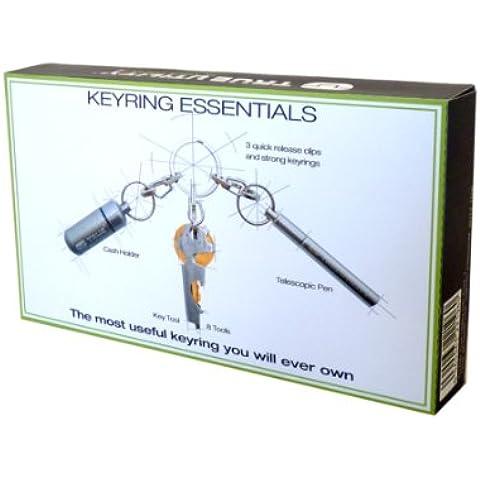 True Utility True Keyring Essentials Triple Tool Pack