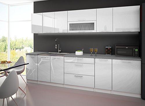 cuisine-complete-3m-laquee-blanc-avec-plan-de-travail