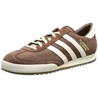 adidas Beckenbauer, Men's Low Top, Brown (Leather ( (Sue), 10 UK