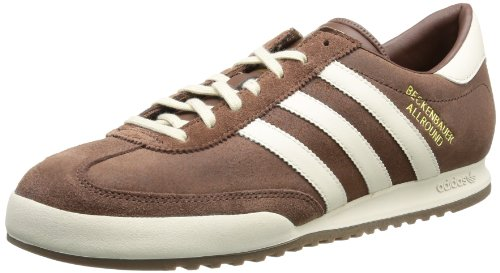 adidas Beckenbauer G96460, Herren Sneaker, Braun (Leather ( (Sue)) - 1 / Bliss S13 / Gum5), EU 42 2/3 (UK 8.5) (Cross-trainer Sneaker Herren)