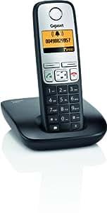 Gigaset A400 Dect-Schnurlostelefon, schwarz