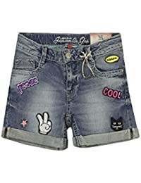 Lemmi Mädchen Shorts Jeans Girls Mid