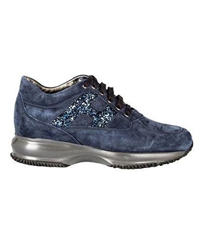 Hogan Hogan Damen HXW00N0S3609KEU810 Blau Wildleder Sneakers