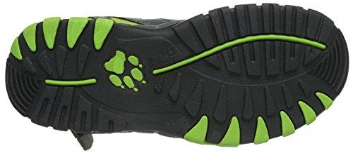 Jack Wolfskin KIDS WILD RIVER 4020051-4011400 Unisex-Kinder Sport- & Outdoor Sandalen, Mehrfarbig (parrot green), EU 40 (UK 6.5) (US 7.5) Mehrfarbig (parrot green)