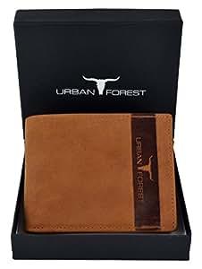 URBAN FOREST Cognac Men's Wallet