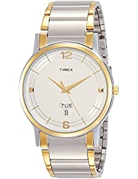 Timex Classics Analog Silver Dial Men's Watch-TW000R424
