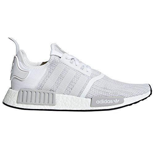Sneaker Adidas Nmd R1 By9951, B79758 Nero. Scarpe Da Uomo Tecnologia Boost. Blanc / Gris Deux / Ftwr Blanc