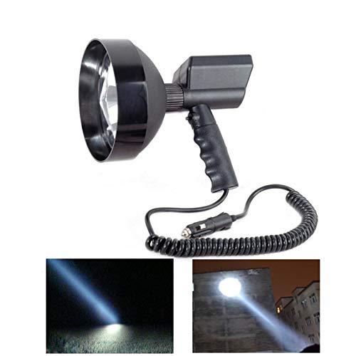 """12V 100W VERSTECKTE 7""""Xenon Handheld Camping Jagd Angeln Super Licht Suchscheinwerfer"""