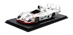 Spark - 43Lm81 - Porsche 936/81 - Ganador de Le Mans 1981 - Escala 1/43 - Blanco - Rojo