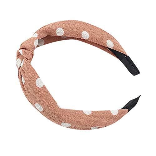 EERTX - ♛♛ Haar Stirnband Damen Haarband Yoga Headband Hairband Frauen Stoff Haarreif mit Schleife-Vintage-Wunderschön Stirnband,Haarschmuck Haarreif mit Schleife-Vintage-Wunderschön Stirnband - Häkel-clutch Handtasche