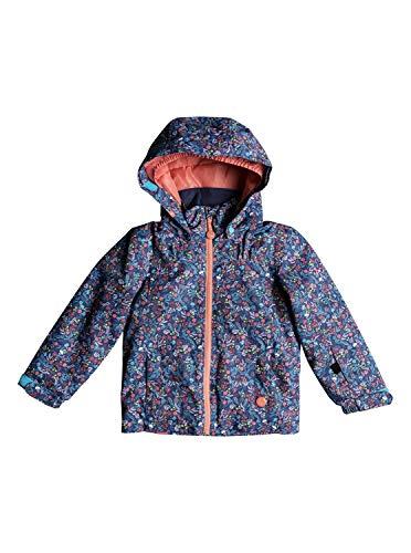 Roxy Mädchen Mini Jetty Snow Jacket, Bachelor Button-Rumba Ditsy, Small