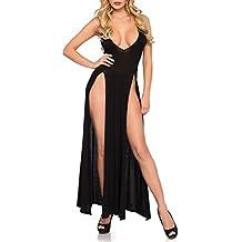 JYC Panties Sexy Lace Underwear,Dormir Vestido Interior Cordón Mujer,Sujetador Deportivo para Mujer