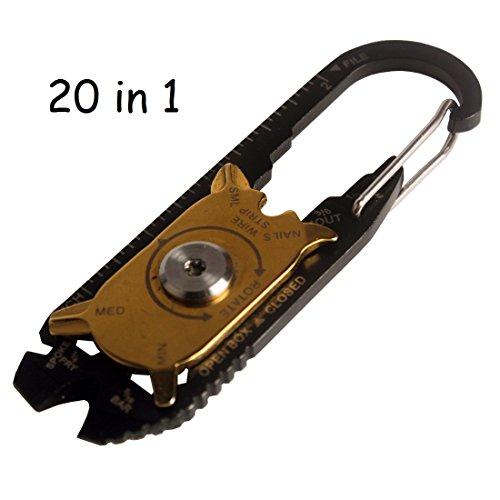 Andux Zone multifunktionales Handwerkzeuge praktisch 20 in 1 Schraubenschlüssel, Schraubendreher, Schneiden CS/GND01