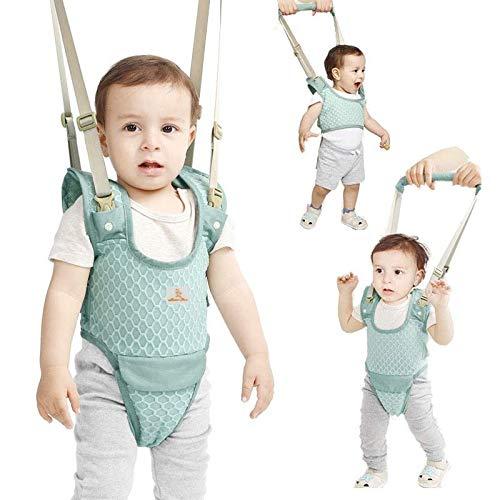 CLINI Bebé Caminar Arnés, 2-in-1 Seguridad Asistente Niños Andador para 7-24 meses, Baby Walking Assistant (Azul)