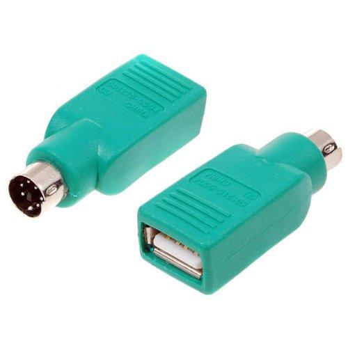 Foto de Conector adaptador USB hembra a S-Video PS/2 PS2 SVHS macho convertidor para PC .