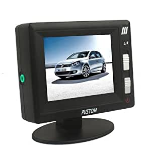 2 5 zoll auto r ck lcd monitor mit standfu elektronik. Black Bedroom Furniture Sets. Home Design Ideas